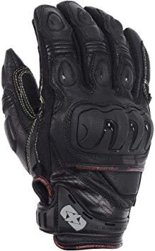 OXFORD RP-2 LEATHER ARMOURED SUMMER MOTORCYCLE SPORTS RACING GLOVES BLACK T