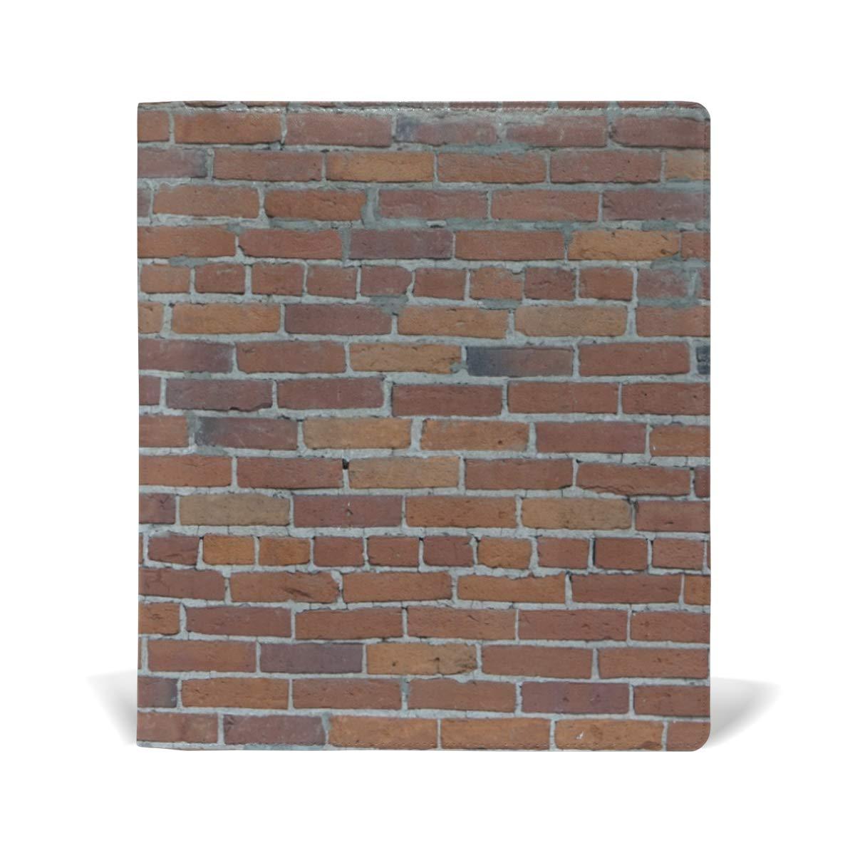 FAJRO- Fundas para libros de pared de alinear, ladrillo sin alinear, de tamaño estándar de hasta 9 x 11 pulgadas 340bb2