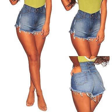 Amazon.com: ChoppyWave Pantalones vaqueros para mujer ...