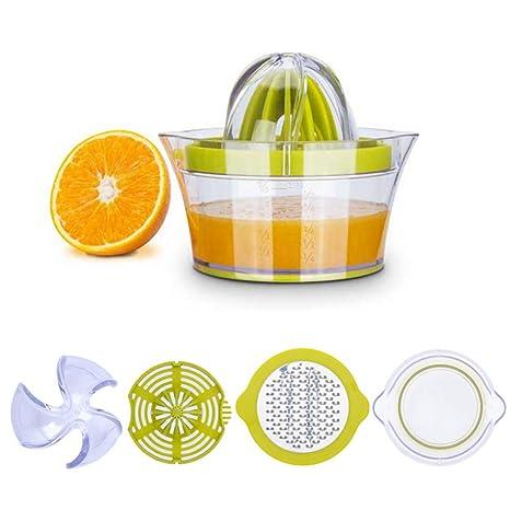 Hihey Household Simple Mini Exprimidor Manual Exprimidor de limón Jugo de Naranja exprimido Jugo de Naranja