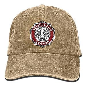 American Legion Denim Hats Adjustable Jeans Caps Baseball Cap Dad Hats