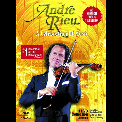 Andre Rieu: A Celebration of Music 3DVD Set (Slip Case) ()