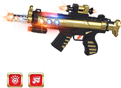Light Up weapon Gun Kids Pistol Gun Toy with Light and Sound best Gift For boys