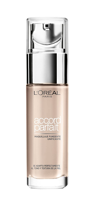 L'Oréal Paris - Accord Parfait Fond de teint Fluide Unifiant D7 Ambre Doré L' Oréal Paris