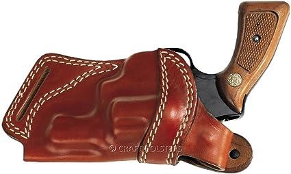 Amazon com : Taurus 605 Leather SOB Holster : Sports & Outdoors