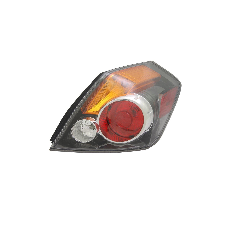 Tyc 11 6394 00 Nissan Altima Left Replacement Tail Lamp Peugeot 306 Fuse Box Brake Lights Automotive
