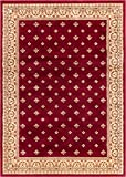 Noble Palace Red French European Formal Traditional Area Rug 9×13 ( 9'3″ x 12'6″ ) Easy to Clean Stain Fade Resistant Shed Free Modern Contemporary Floral Transitional Soft Living Dining Room Rug Review