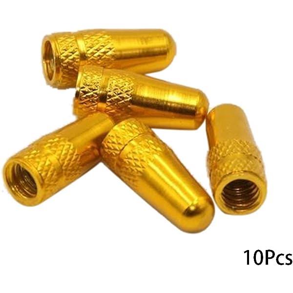 NANAD 10 Unidades de Tapas de válvula Presta, aleación de Aluminio ...