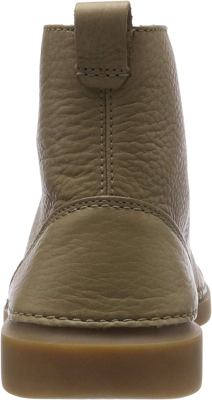 Clarks Hale Rise, Stivali Classici Uomo Beige Sandstone Leather
