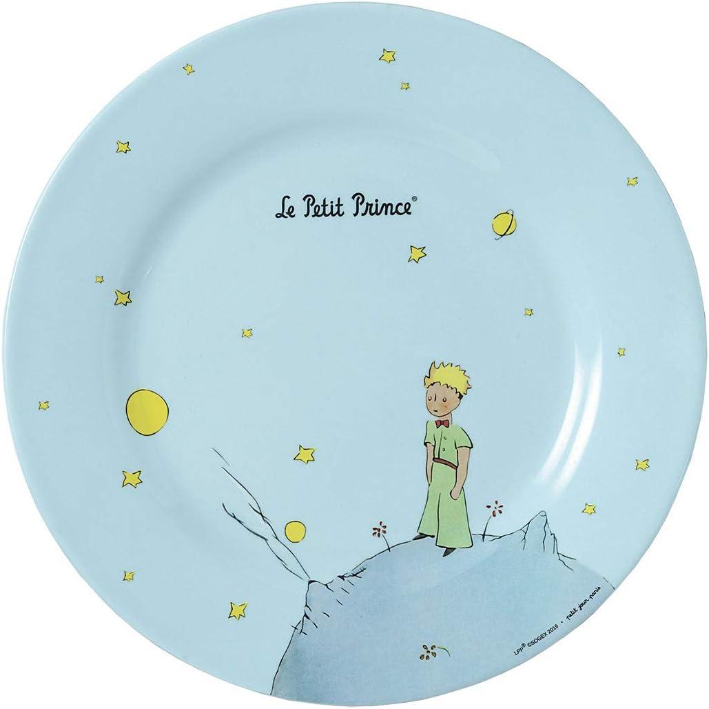 Perfecto para tartas peque/ñas Plato de El Principito 23 cm Petit Jour Paris PP956P Azul