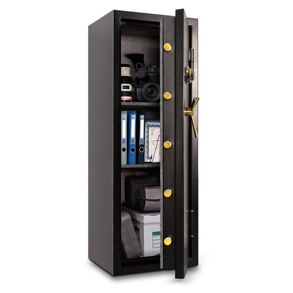 Amazon.com: Mesa Safe MBF5922C-P All Steel Burglary and Fire Safe with Combination Lock, 7.9-Cubic Feet, Black: Home Improvement