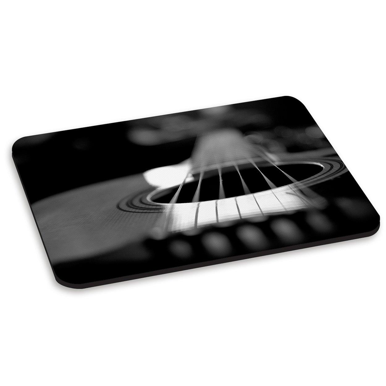Guitarra Acústica negro y - PC para ratón de ordenador de patines sobre ruedas para alfombrilla para Country de partituras de Rock n Roll: Amazon.es: Hogar