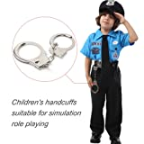 Police Toy, Police Metal Handcuffs Heavy Duty