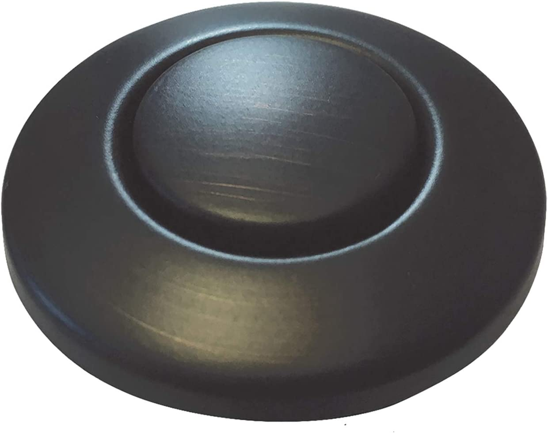 Moen AS-4201-BRB Garbage Disposal Air Switch Coordinating Decorative Button, Mediterranean Bronze