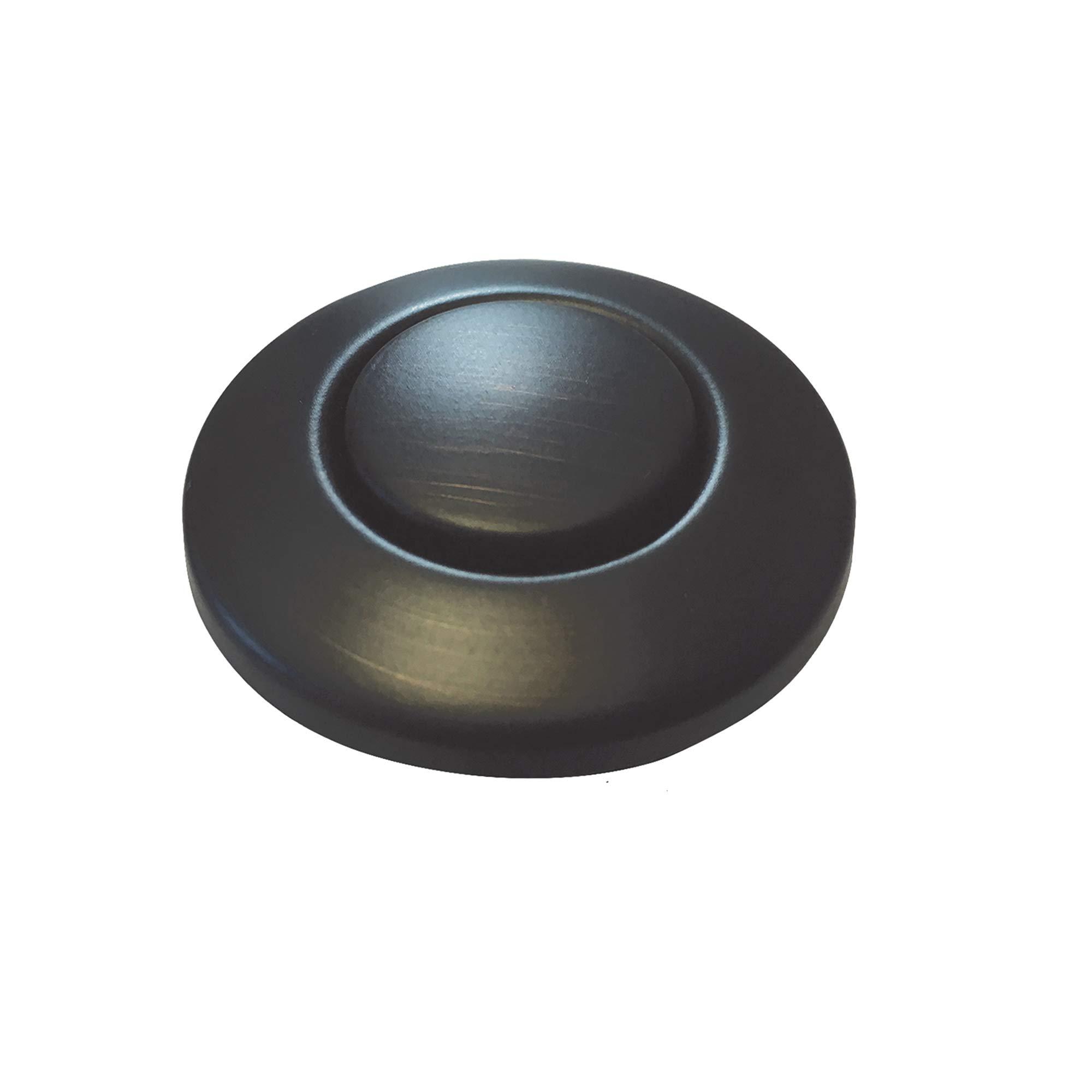 Moen AS-4201-BRB Garbage Disposal Air Switch Coordinating Decorative Button, Mediterranean Bronze by Moen