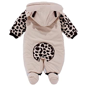 9e7bfcc4d Amazon.com   Newborn One-piece Baby Clothes Sets Cotton Thick Romper ...