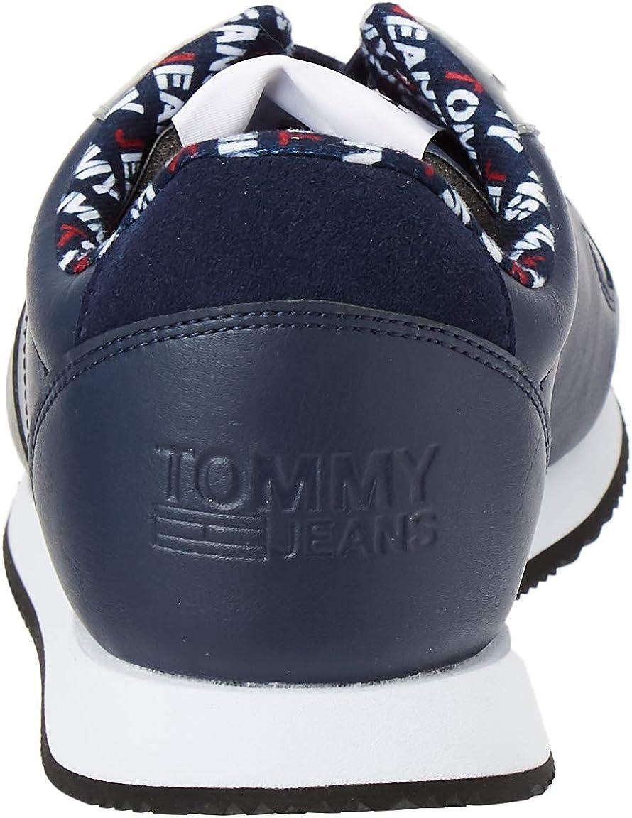 Tommy Hilfiger Men's Stevie 3c3 Trainers Blue Black Iris Cbk