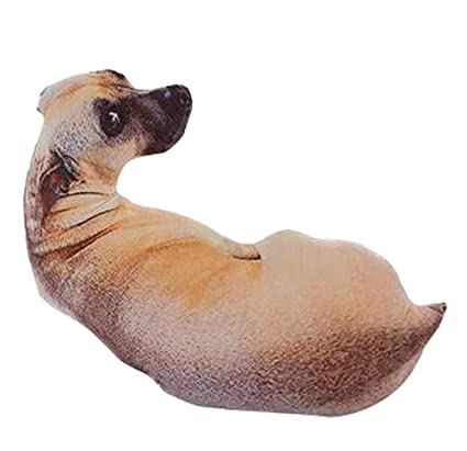Amazon Com Livebycare 3d Dog Cat Stuffed Bed Pillow Bolster Plush