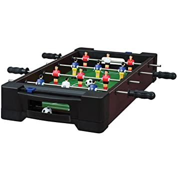 Marvelous Soccer Foosball Table Game   Tabletop Indoor Activity Great For Small Spaces