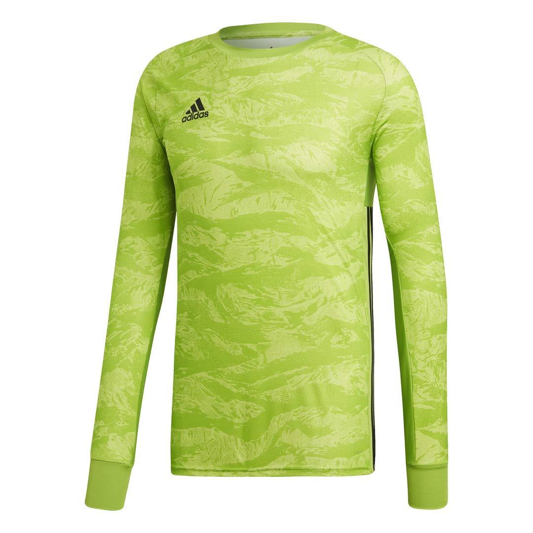 adidas AdiPro 19 Goalkeeper Long Sleeve Jersey (Medium, semi Solar Green) by adidas