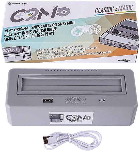 Classic 2 Magic Plays for Original SNES Game Carts, High Compatible