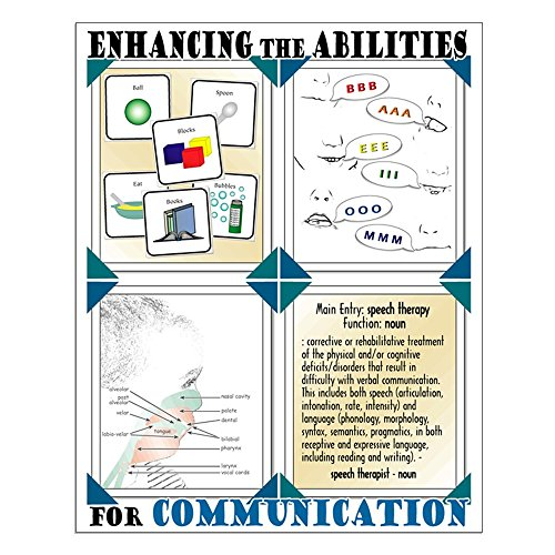CafePress - Small Speech Therapy Poster - 16