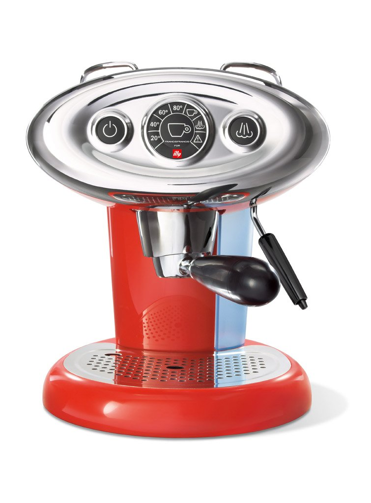 illy METODO iPERESPRESSO Dedicated espresso machine ''FrancisFrancis! X 7.1'' (Red)【Japan Domestic genuine products】