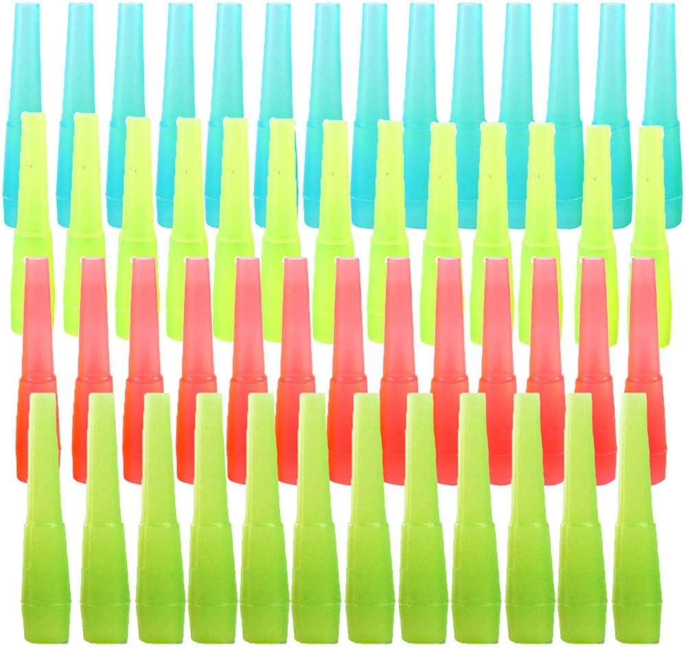 200 Piezas Puntas Desechables Boca Cachimba, Boca de Cachimba Desechable, Desechable El Plastico Seguro Paquete Individual Boca Cachimba para Un Mejor Fumar Shisha Hookah (4 Colores)