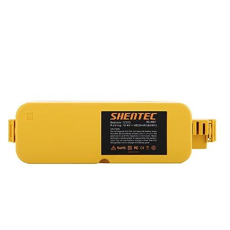 Amazon.com: shentec 14.4 V 4800 mAh Batería de repuesto para ...