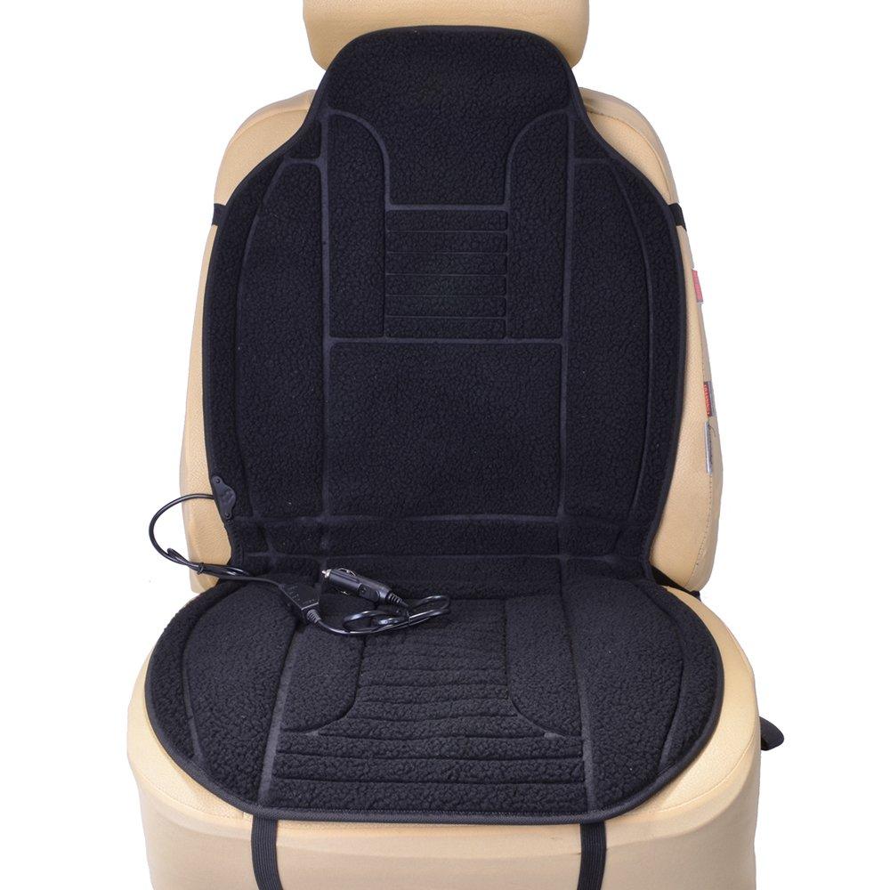 Filmer 36039 Autositz-Heizpad, Lammfell mit Schalter Diedrich Filmer GmbH