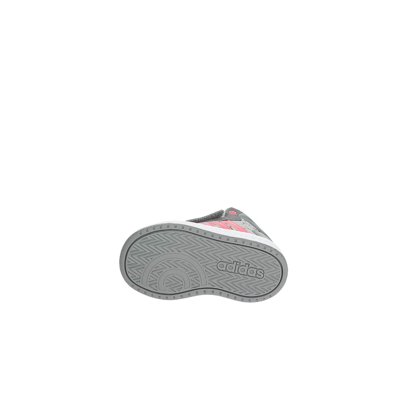 adidas Unisex Baby Hoops Mid 2.0 Niedrige Hausschuhe DB1487