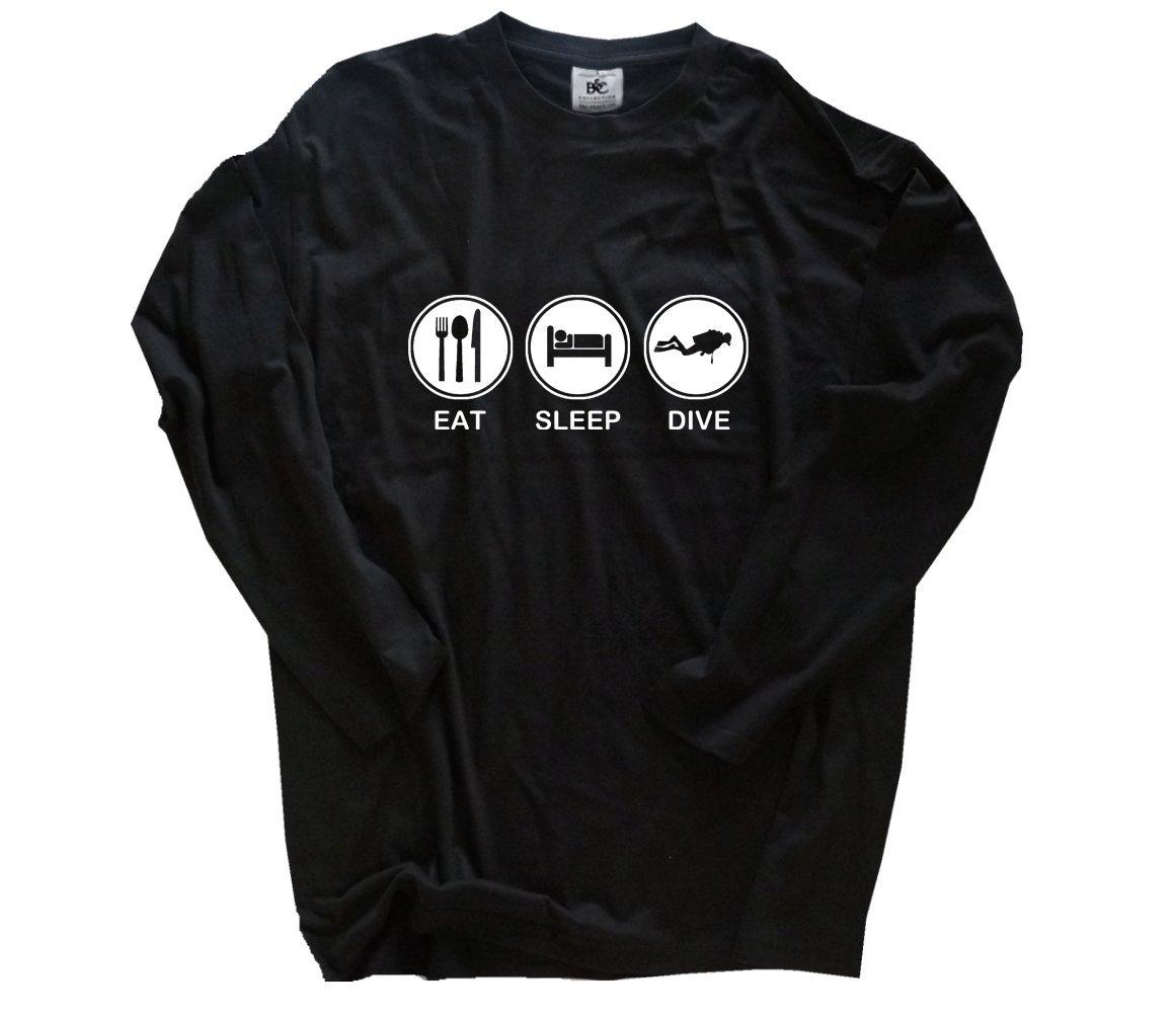 EAT Sleep Sleep Sleep Dive Tauchen Taucher Diver T-Shirt S-XXXL B00Q3HKBUI T-Shirts eine große Vielfalt von Waren 0c648a