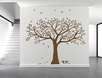 Amazoncom Giant Family Tree Wall Decals Photo Frame Wall Decal