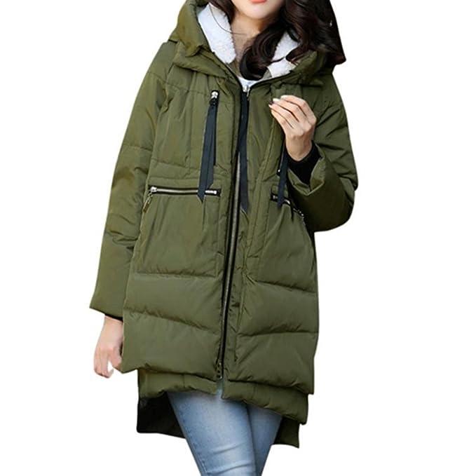 f704655f927c HOMEBABY Womens Long Down Puffa Jacket