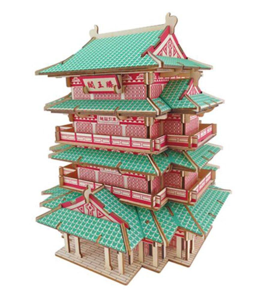 人気提案 WoodcraftアーキテクチャDIYモデルパズル B0756ZN3DC B0756ZN3DC, 輸入品屋さん:eb842938 --- a0267596.xsph.ru