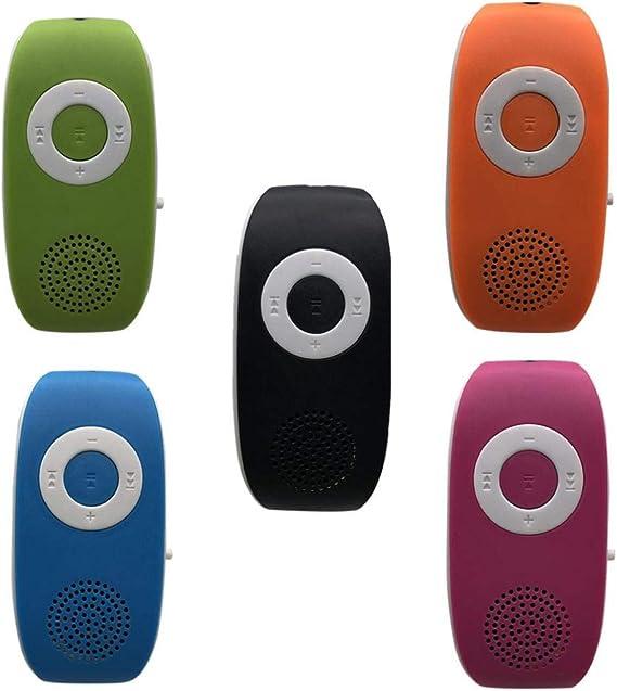Pocciol Portable Stereo Bass Speakers Music Player Mini TF Speaker