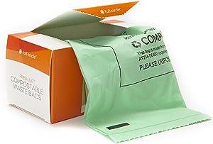 Full Circle Fresh Air Biodegradable Compost Bag, Lemon Scented, 2.5 Gallon, 25 Count