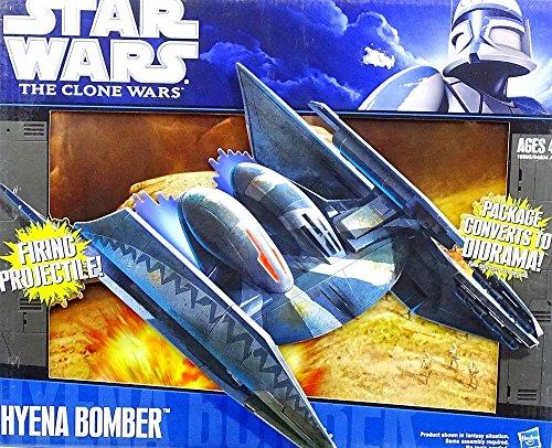 Star Wars Clone Wars Starfighter Vehicle Hyena Bomber