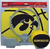 NCAA Iowa Hawkeyes Kids Slam Dunk Hoop Set, Black, Small