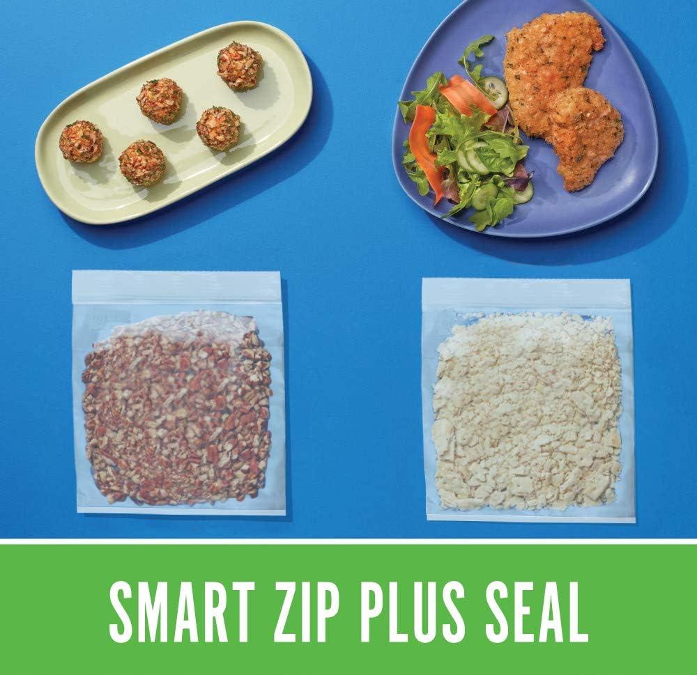 Ruby Bauhinia Sac Cong/élation Alimentaire Sacs Multi-Usages Herm/étique Fermeture Ultra-Zip pour la Protection et la Conservation des Aliments au cong/élateur Rangement