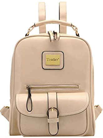 Tinksky Vintage hombros Bolsa moda estudiantes mochila bolso de escuela