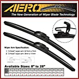 "AERO Voyager 26"" + 16"" Premium Quality All-Season Beam Windshield Wiper Blades (Set of 2)"
