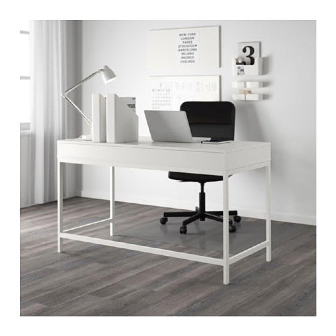 IKEA ALEX – Escritorio para ordenador con cajones Blanco: Amazon ...