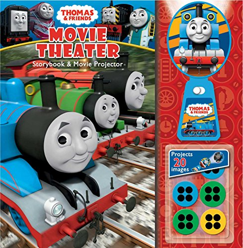 Thomas & Friends: Movie Theater Storybook & Movie Projector Thomas Percy And The Christmas Adventure