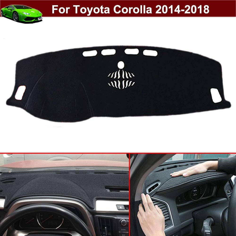 AKMOTOR Dash Cover Dashboard Cover Pad Mat Custom Fit for Toyota Corolla 2003-2008 Z01 Gray