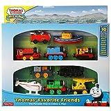 Thomas & Friends Take-n-Play Exclusive THOMAS' FAVORITE FRIENDS 10-Die-cast Vehicle Gift Set