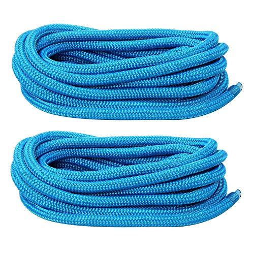 - Amarine Made 5/8 Inch 20 FT Double Braid Nylon Dockline,Mooring Rope Double Braided Dock Line (2-Pack,Blue)
