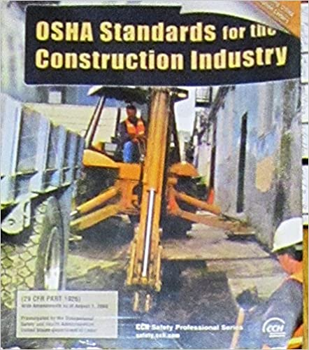 Osha Standards for Teh Construction Industry, 2003