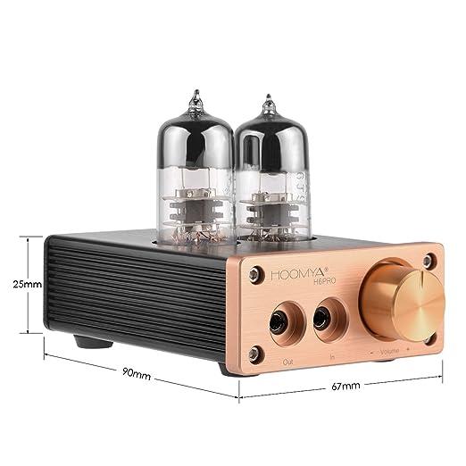 HOOMYA 6J9 Amplificador Integrado del Amplificador del Tubo de ...