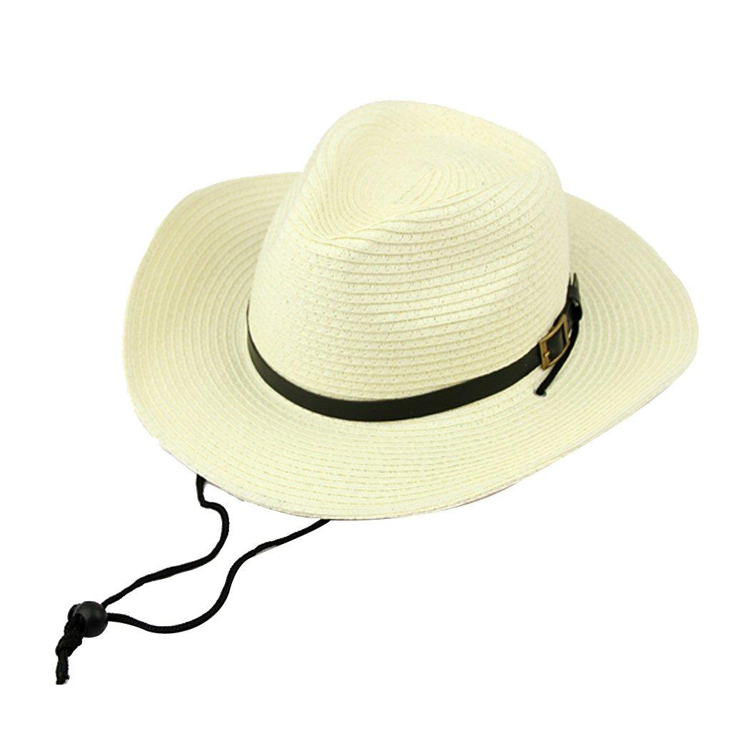 Bambini Ragazzi Regalo Cowboy Western Paglia Cappello da Sole Cap Costume Dono Taglia unica Generic